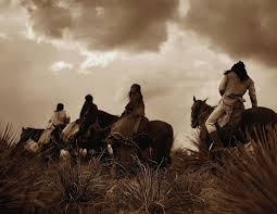 Before The Storm--Apache 1906--Edward Curtis